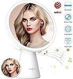 BESCHOI Miroir Maquillage, Bluetooth Lumineux LED...