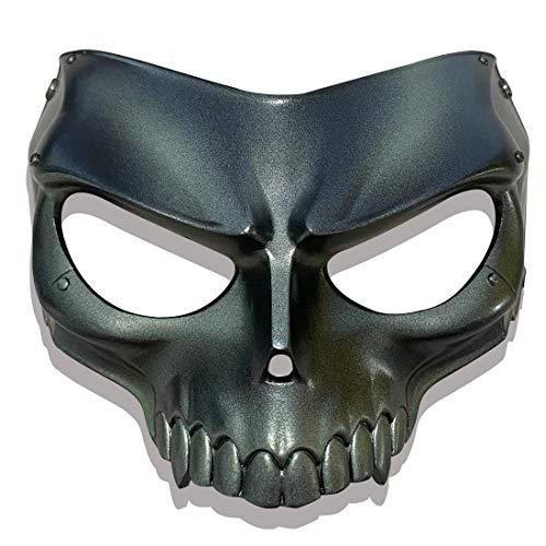 LLH Persona 5 Series Mask Joker/Fox/Skull/Queen/Panther Latex Game Cosplay Masks for Halloween Masquerade (Skull)