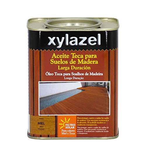 Xylazel 0631003 Aceite teca suelos, Claro