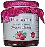 Mermelada Artesana Don Ramiro Fresa Sin Azucar. 100% Natural Elaborado con 98gr De Fruta por 100gr. P.neto 250gr.