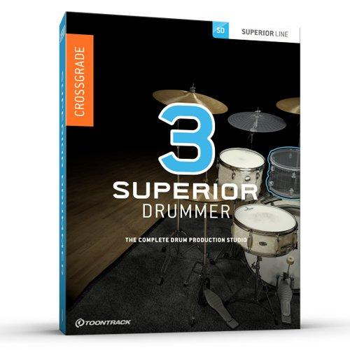 Superior Drummer 3.0 Crossgrade Box / HD