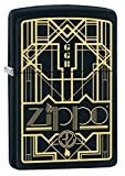 "Made in USA; lifetime guarantee that ""it works or we fix it free"" Genuine Zippo windproof lighter with distinctive Zippo ""click"" All metal construction; windproof design works virtually anywhere. Refillable for a lifetime of use. For optimum performa..."