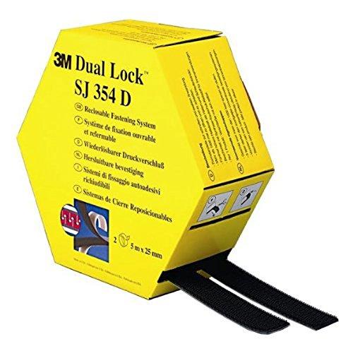 3M SJ-354D Dual Lock - flexibler Druckverschluss, 25 mm x 5 m, (1-er Pack)