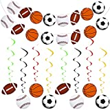 2 Pieces Sports Theme Banner and 16 Pieces...