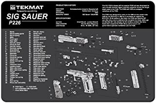TekMat Cleaning Mat for use with Sig Sauer P226