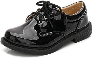 [テンカ] フォーマル靴 男の子 ベビーシューズ キッズ ドレスシューズ 子ども靴 ボーイズ 無地 演奏会 発表会 結婚式 入園式 入学式 卒業式 歩きやすい 軽量 かわいい カジュアル パンプス お祝い