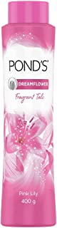 POND'S Dreamflower Fragrant Talcum Powder, Pink Lily, 400 g