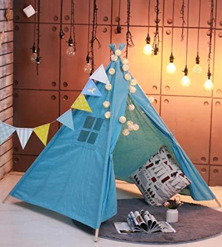 Topashe Tienda de campaña Infantil Portable,Tienda de decoración de Picnic, casa de Juegos para niños-C_1.8cm,Tienda de campaña Regalo para Niños