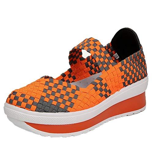 Sportschoenen voor dames, ademend, zonder veters, zomerschoenen