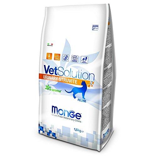Monge Veterinary Solution Gatto Urinary Struvite kg. 1,5 Cibo Gatti, Multicolore, Unica