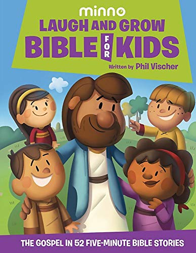 Compare Textbook Prices for Laugh and Grow Bible for Kids: The Gospel in 52 Five-Minute Bible Stories Illustrated Edition ISBN 9781546017455 by Vischer, Phil