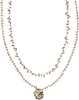 HALLHUBER Halskette mit Taleranhänger Gold, One Size