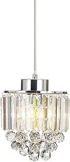 COTULIN Polished Decorative Crystal Pendant Light, Chandelier for Living Room,Dining Room and Bar