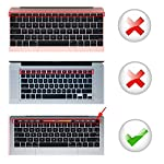 Lapogy MacBook Pro 16 inch Keyboard Cover with MAC OS Shortcut Hot Keys,Pro 13 inch 2020(A2289/A2251),Pro 16 inch 2019… 9 Only Compatible with Apple Macbook Pro 16 inch with Touch ID. Not compatible with other MacBook model. Made of premium grade transparent silicone that allows keyboard backlight to shine through High precision molding, extreme fit closely to original key, giving unparalleled typing response.