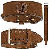 met-x Power Lifting Hombre Competencia est/ándar cintur/ón Negro Cinturones de Levantamiento de Peso