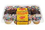 DELICIOUS CUPCAKES + KID FRIENDLY! Indulge in these classic never- fail scrumptious mini cupcakes. These heavenly bite-size vanilla cupcakes are coated in a rich chocolate icing and topped to perfection with either chocolate or colorful sprinkles. Yo...