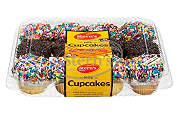 Birthday Snack | Cup Cakes | Snack Cakes | Birthday Cakes | Dairy & Nut Free | 12 Mini Cupcakes Per Pack | 10 oz – Stern's Bakery  12 Pack