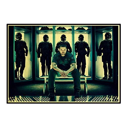 HJZBJZ The Expanse Science Fiction TV Kraft Paper/Decoración de Pared/Cartel de Bar/Pintura Decorativa/Cartel retro-20X28 Pulgadas Sin Marco 1 Uds