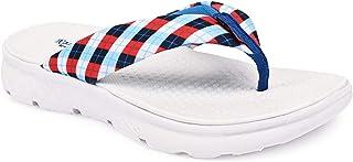 KazarMax White Checkmate Stylish/Super Soft/Ultra-Light/Slipper For Women