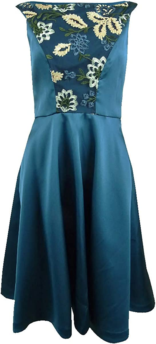 Kay Unger Fit-and-Flare Dress
