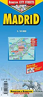 Berndtson Madrid City Streets Map