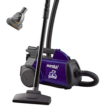 EUREKA Mighty Mite Bagged Canister Vacuum Cleaner, Pet, 3684f-violet