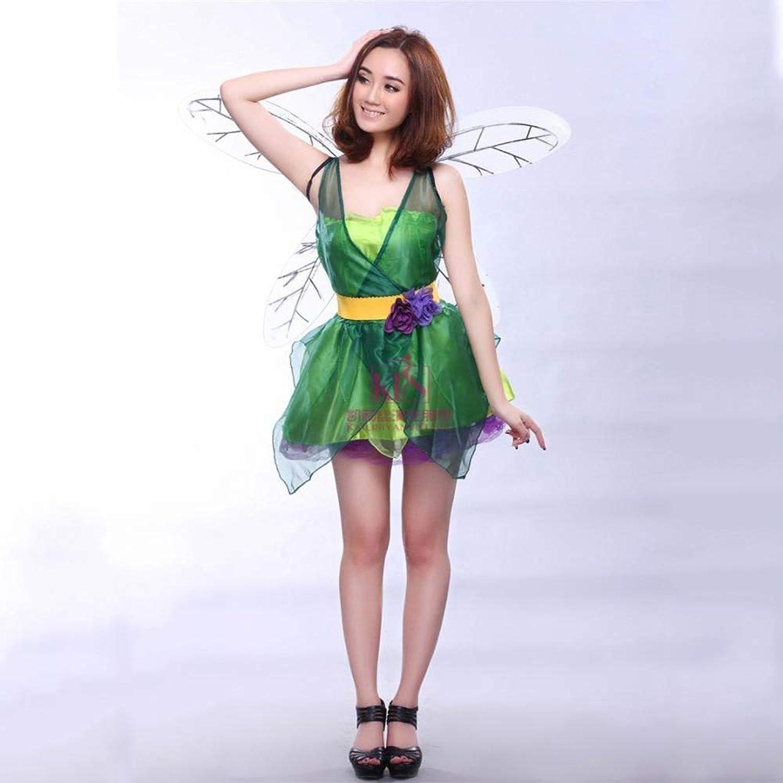 Yunfeng Hexenkostüm Damen Hexenkostüm Damen Halloween Kostüm Party Kostüm Flower Fairy cos Elf Weihnachten Kostüm Fee Kostüm B07J5SYHK7 Internationale Wahl    | Smart