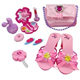 Liberty Imports Little Princess Fashion Beauty Set for Girls with Pink Purse, Shoes & Accessories