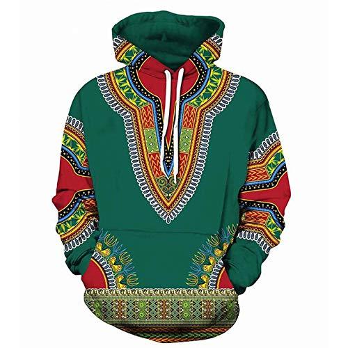 FGVBWE4R Männer African Print Hoodie Sweatshirt 2018 3D New Tribal Ethnic 3D Hoodies Sweatshirts Männer Frauen Hoody Pullover Zeigen, M