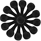 70 Pieces Black Disposable Nose Filters Sponges Spray Tanning Nose Filters for Spray Solution Airbrush Tanning Outdoor Dust Areas Woodworking Sanding Protection and Construction