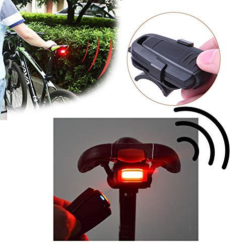 Standardkombination Fahrradschloss 4-In-1-Fahrrad-Diebstahlalarm, Kabelloser Fernbedienungsalarm