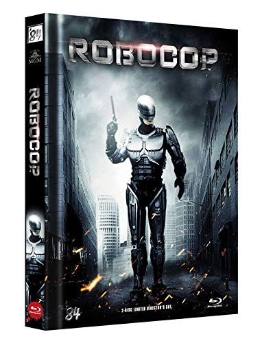RoboCop 1 - 2-Disc Limited Director's Cut - Mediabook, Cover B (+ DVD) [Blu-ray]