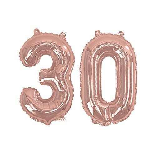 Neviti 774120 - Globos de lámina número 50, color oro rosa