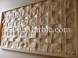 GlobMarble Concrete Mold Mosaic Stone Mold MS 871/2 Concrete Wall
