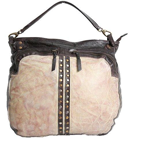 Wunschstück - SULANE - Damen/Shopper/Tasche - d.brown/ivory