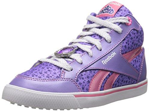 Reebok Sofia SH311 Klassischer Schuh (Kleinkinder/Kleinkinder), Violett (Lush Orchid/Trendy Pink/Weiß/Sport Violet), 34 EU