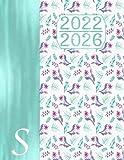 2022 - 2026 Agenda 5 Anni – Monogramma S Pianificatore: Nome Iniziale S I Regalo Calendario I Note I Lista di cose da fare I Annuale e Mensile I Pianificatore Quinquennale Italia