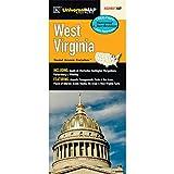 West Virginia State Waterproof Map