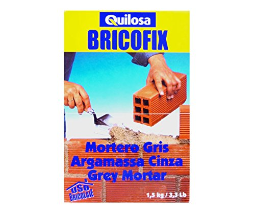 Quilosa T088229 Bricofix Mortero Gris
