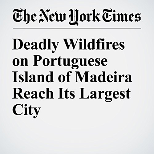 Deadly Wildfires on Portuguese Island of Madeira Reach Its Largest City cover art