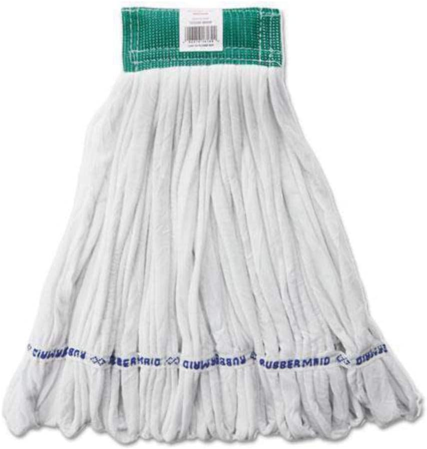 Medium Rough Floor Looped-End Cotton Head Whi Synthetic Mop Animer and price revision Limited time for free shipping Wet