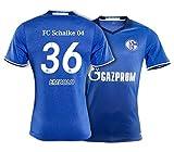 adidas Trikot FC Schalke 04/2016-2017 Home (Embolo 36, 128)