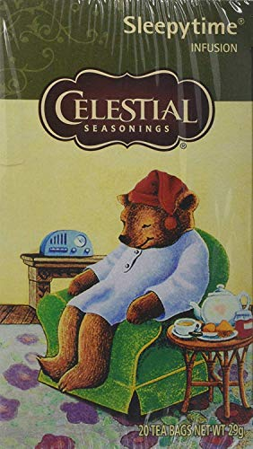 Celestial Seasonings Sleepytime Herbal 20 Teabags (Pack of 6, Total 120 Teabags)
