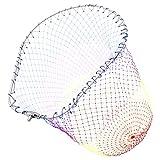 SANLIKE 玉網 大型たも網 アルミオーバル 折りたたみ玉枠 ナイロンネット ランディングネット タモ網45cm SK-07-Mulit-45M