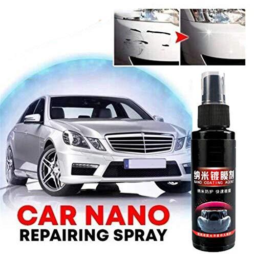 Creacom Nano Coating Technology Spray, ersetzt Autowachs, Car Nano Repairing Spray Reparaturkratzer Car Coating Spray Superhydrophobe Glasbeschichtung