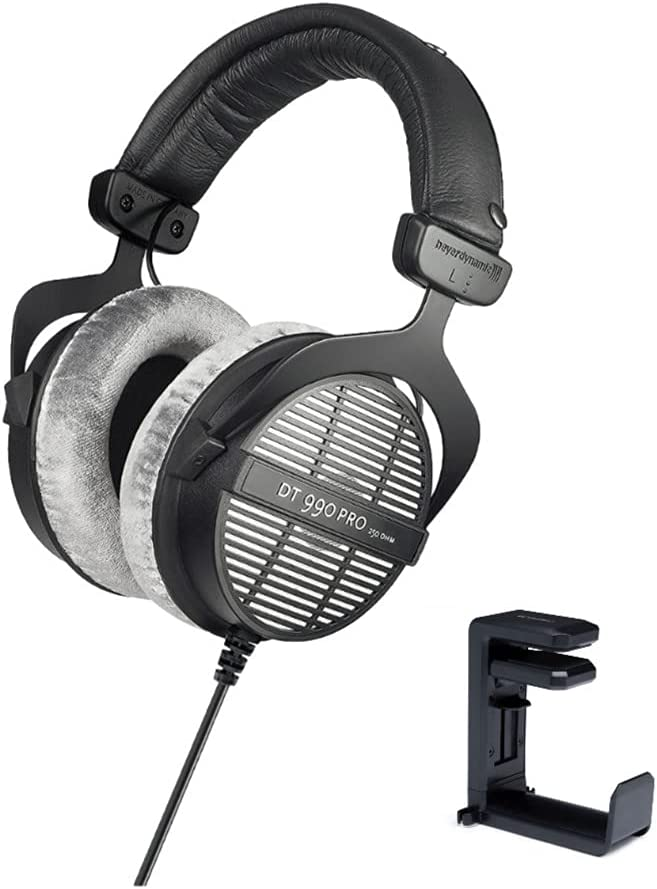 Discount mail order Beyerdynamic DT-990 Pro Acoustically High quality new Open 250 Headphones Ohms
