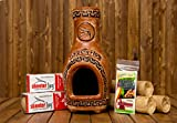 Redi-Flame Woodshed Renewables Chiminea Kit