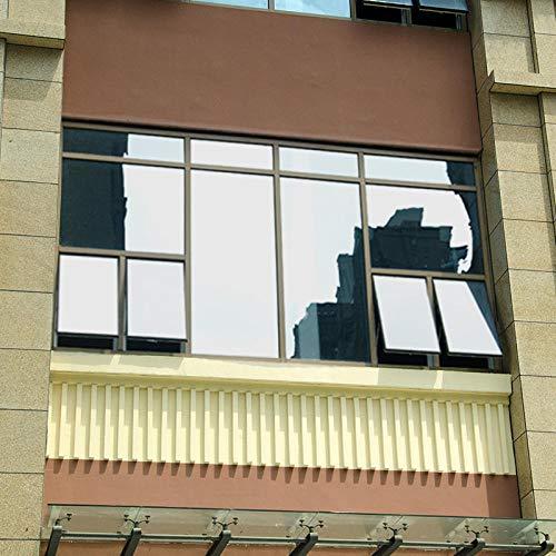 Vinilos para Cristales Gran película Reflectante de Ventana de Plata de Gran Aislamiento a Manera de Pegatinas de Color de Espejo para el hogar y la Oficina