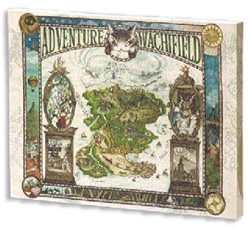 ジグソーパズル WACHIFIELD わちふぃーるどの冒険地図 366ピース 【キャンバスパズル】