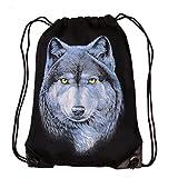 Goertrud Tasche, Beutel oder Rucksack - Night Wolf